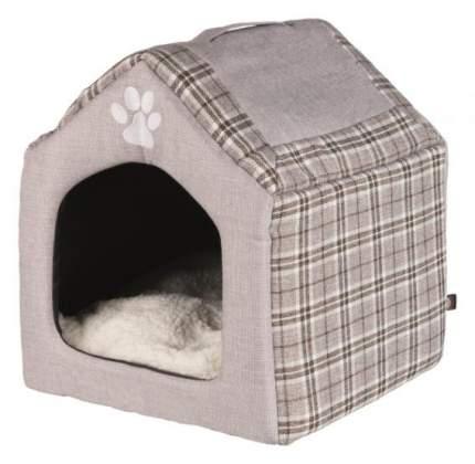 Домик для кошек и собак TRIXIE Silas пещера, серый, бежевый, 45x40x40см
