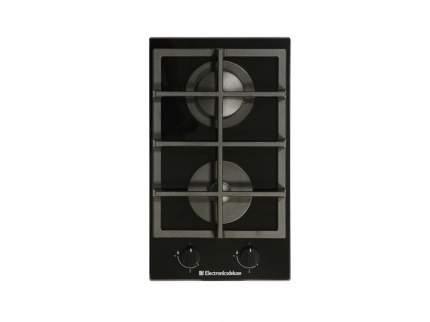Встраиваемая газовая варочная панель Electronicsdeluxe GG2 400215 F Black