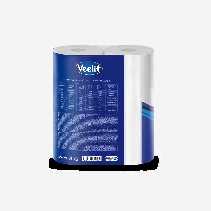 Бумажные полотенца Veelit premium  3 слоя 2  рулона