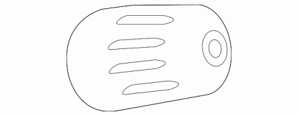 Колпачок клапана шины колеса GM 13598913