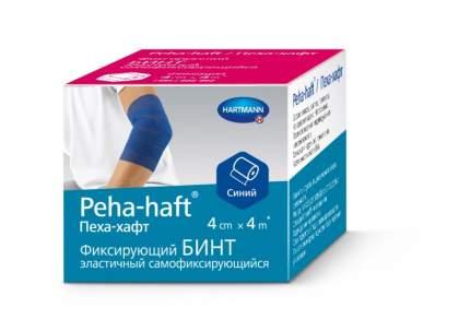 Бинт Peha-haft самофиксирующийся без латекса синий 4 м х 4 см