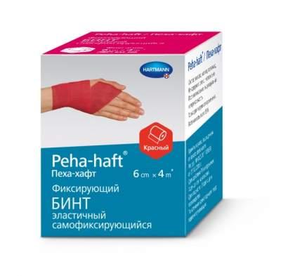 Бинт Peha-haft самофиксирующийся без латекса красный 4 м х 6 см