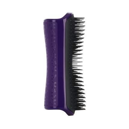 Расческа для вычесывания шерсти Pet Teezer De-shedding & Dog Grooming Brush Purple & Grey