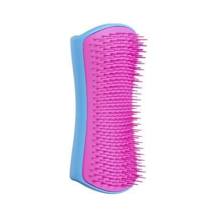 Расческа для вычесывания шерсти Pet Teezer De-shedding & Dog Grooming Brush Blue & Pink