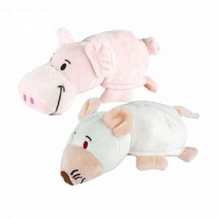 Мягкая игрушка 1 TOY Т16484 Вывернушка СГ Собака-Свинья, 16 см