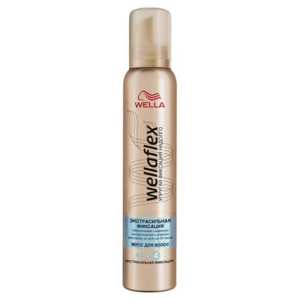 Мусс для волос Wella Wellaflex Экстрасильная фиксация 200 мл