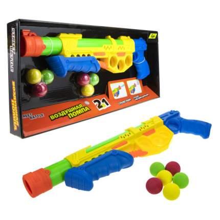 Игрушечное оружие 1 TOY Т17335 Street Battle 2 в 1 водяное с мягкими шариками