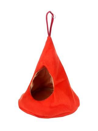 """Домик для мелких грызунов Монморанси """"Юрта"""", цвет: оранжевый/бежевый, 16х14 см."""