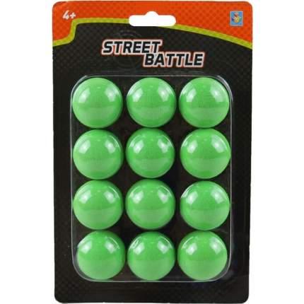 Шарики 1 TOY Т13650 для Street Battle, 12 шариков 3,4 см