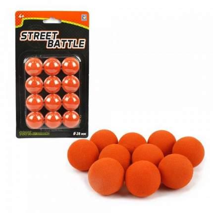 Шарики 1 TOY Т13649 для Street Battle, 12 шариков 2,8 см