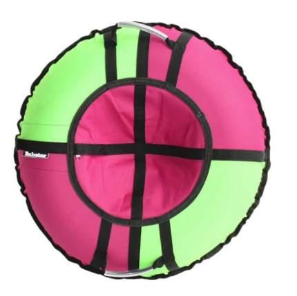 Тюбинг Hubster во4671-1 Хайп розовый-салатовый, 90 см