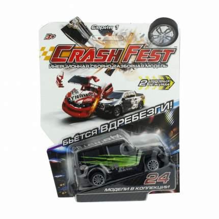 Машинка инерционная 1 TOY Т17090-1 CrashFest Automod, 10 см