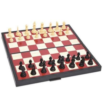 Настольная игра 5 в 1 1 TOY Т12060 Шашки/шахматы/нарды/карты/домино