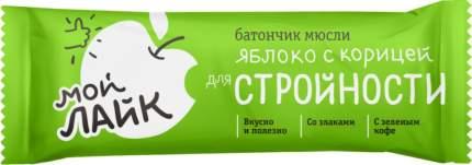 Батончик для стройности Леовит яблоко с корицей 25 г