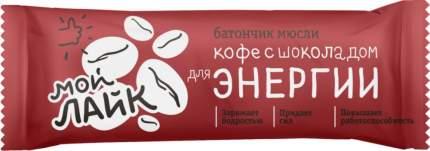 Батончик-мюсли для энергии Леовит кофе с шоколадом 25 г