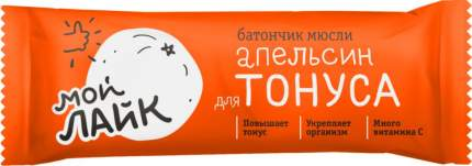 Батончик-мюсли для тонуса Леовит апельсин 25 г