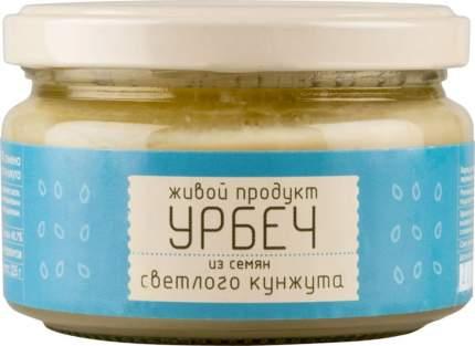Урбеч Живой продукт из семян светлого кунжута 225 г