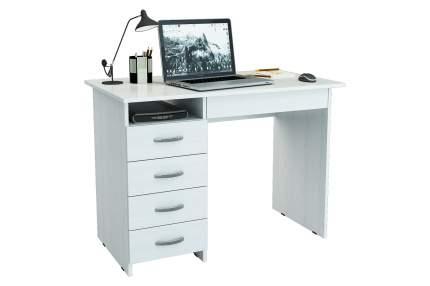 Компьютерный стол MFMaster Милан-1 МСТ-СДМ-01-БТ-02, белый
