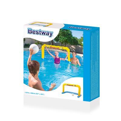 Надувные ворота для поло Bestway с мячом 137х66 см, 52123BW