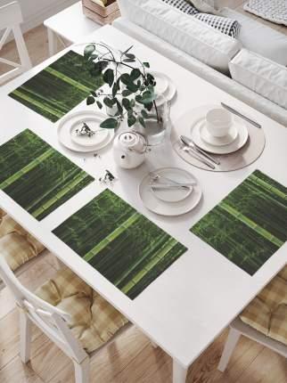 JoyArty Комплект салфеток для сервировки стола «Затеряный в бамбуке» (32х46 см, 4 шт.)
