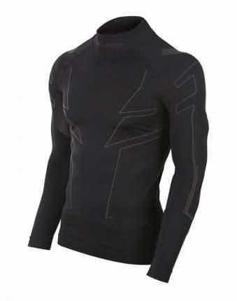 Футболка Brubeck Cooler Unisex, черная, M