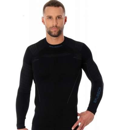 Футболка Brubeck Thermo Nilit Heat, black, XL