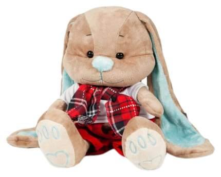 """Мягкая игрушка """"Зайчик Жак"""" в красных штанишках с шарфом, 25 см Jack and Lin"""