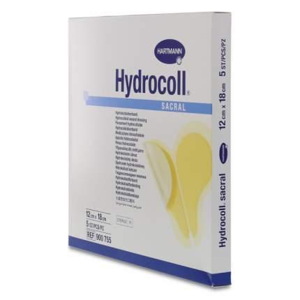 Повязка Hydrocoll сакрал на область крестца гидроколлоидная самоклеящаяся 12 х 18 см 5 шт.
