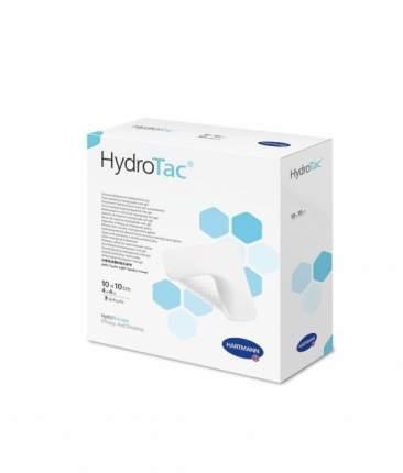 Повязка HydroTac губчатая с гидрогелевым покрытием увлажняющая 10 х 10 см 3 шт.