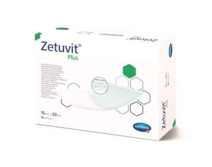 Повязка Zetuvit plus сорбционная стерильная с повышенной впитываемостью 15 х 20 см 10 шт.