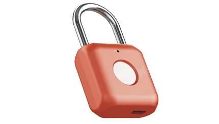 Навесной замок с отпечатком пальца Xiaomi Smart Fingerprint Lock Padlock YD-K1 Red