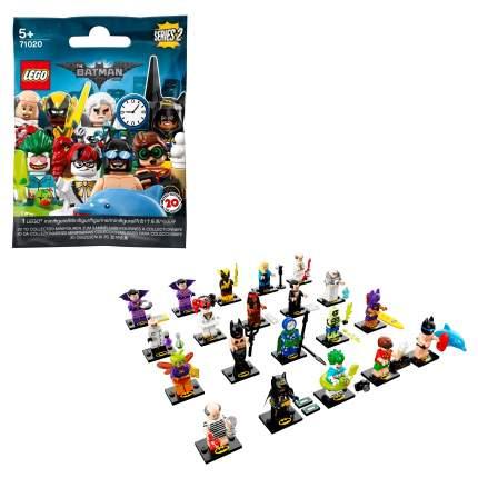 Конструктор LEGO Minifigures Минифигурки LEGO, ЛЕГО фильм: БЭТМЕН, серия 2 71020