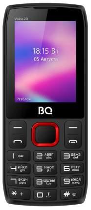 Мобильный телефон BQ 2400L Voice 20 Black/Red