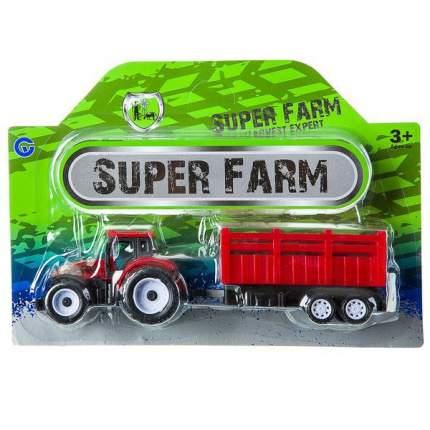 Инерционный трактор Zhorya Super Farm с прицепом