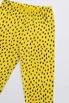 Лосины для девочек Crockid, цв. желтый р.110