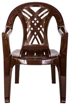 Садовое кресло Стандарт Пластик Престиж-2 80276735 brown 66х60х84 см