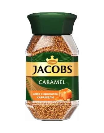 Кофе Jacobs Caramel с ароматом карамели растворимый 95 г