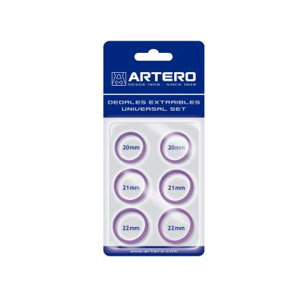 Набор для груминга Artero, кольца для ножниц, фиолетовый, латекс