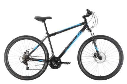 """Велосипед Black One Onix 27.5 D 2021 18"""" черный/синий/серый"""