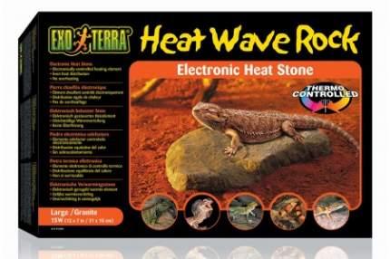 Камень нагревательный для террариума Exo Terra Heat Wave Rock 15 Вт, большой, 31х18х6 см