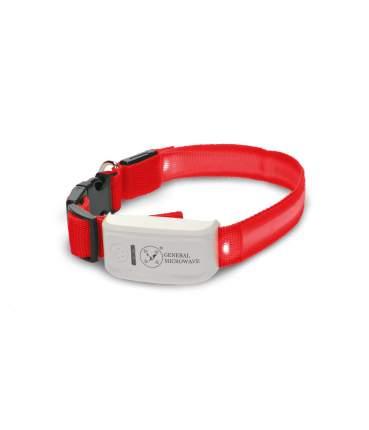 GPS-трекер для собак и кошек с LED ошейником