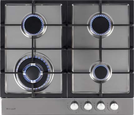 Встраиваемая варочная панель газовая Weissgauff HGG 641 Xh Grey