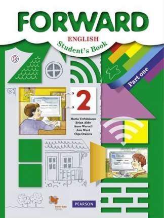 Учебник Английский язык. 2 класс.  В 2 ч. Часть 1