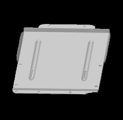 Защита КПП ТСС для Mitsubishi Pajero IV (алюминий) 4мм арт. ZKTCC00052