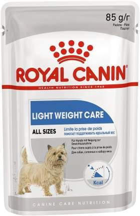 Влажный корм для собак ROYAL CANIN Light Weight Care, диетический, паштет, 12шт по 85г