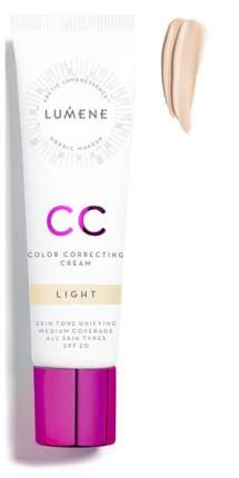СС средство Lumene CC Color Correcting Cream SPF 20 Light 30 мл