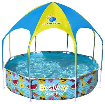 Каркасный бассейн Bestway 56432BW 244x244x51 см