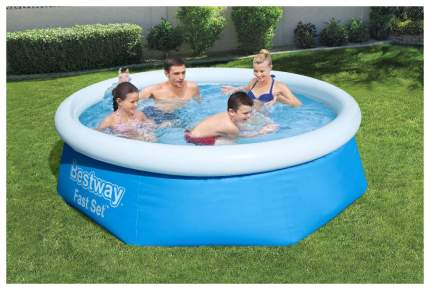 Надувной бассейн Bestway 57265BW 244x244x66 см