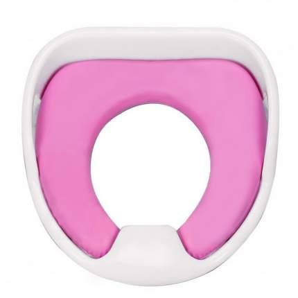 Детское мягкое сиденье для унитаза Markethot Comfy Trainer розовый