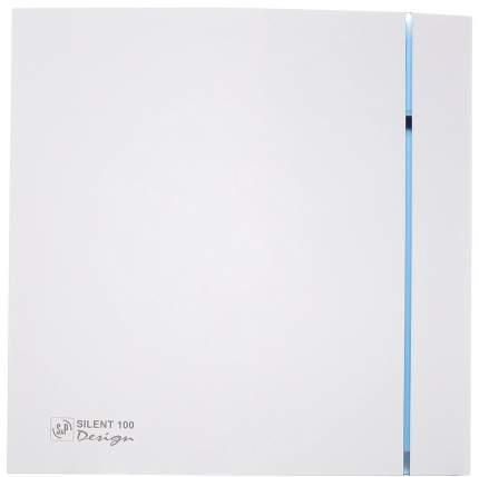 Вытяжной вентилятор Soler & Palau Silent-100 CZ Design (белый) 03-0103-117